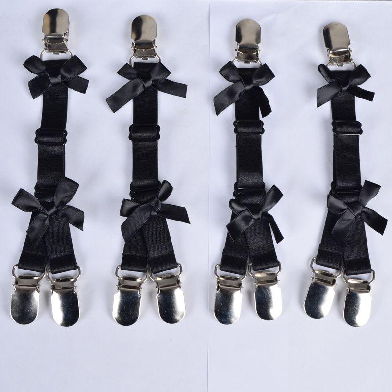 Black women stockings garter belt Bow garter Harajuku Gothic body harness wedding garters bridal bondage harness garters
