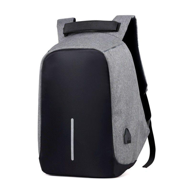 Sac Anti-vol hommes ordinateur portable sac à dos voyage sac à dos femmes grande capacité affaires USB Charge collège étudiant école sacs à bandoulière
