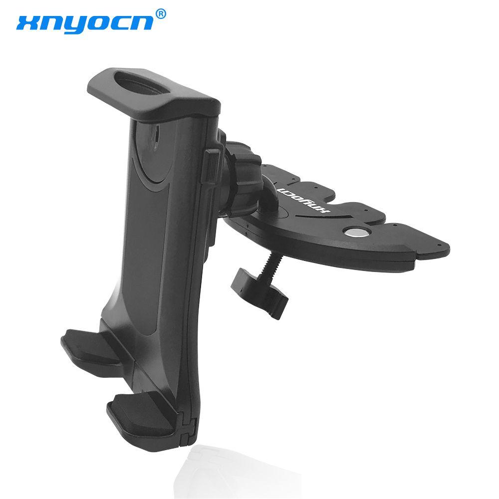 Universal Vente Chaude 7 Pouce 90 ~ 136mm Réglable Support De Voiture CD Slot Mobile Mont Téléphone Stand de Support Pour ipad mini Pour Tablet PC GPS