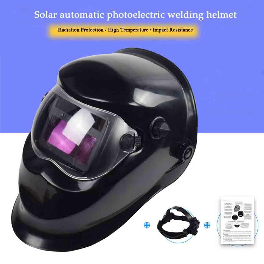 Welding Helmet Automatic Replacement Welding Mask Head Band Welder Welding Mask TIG Mask -110 Black