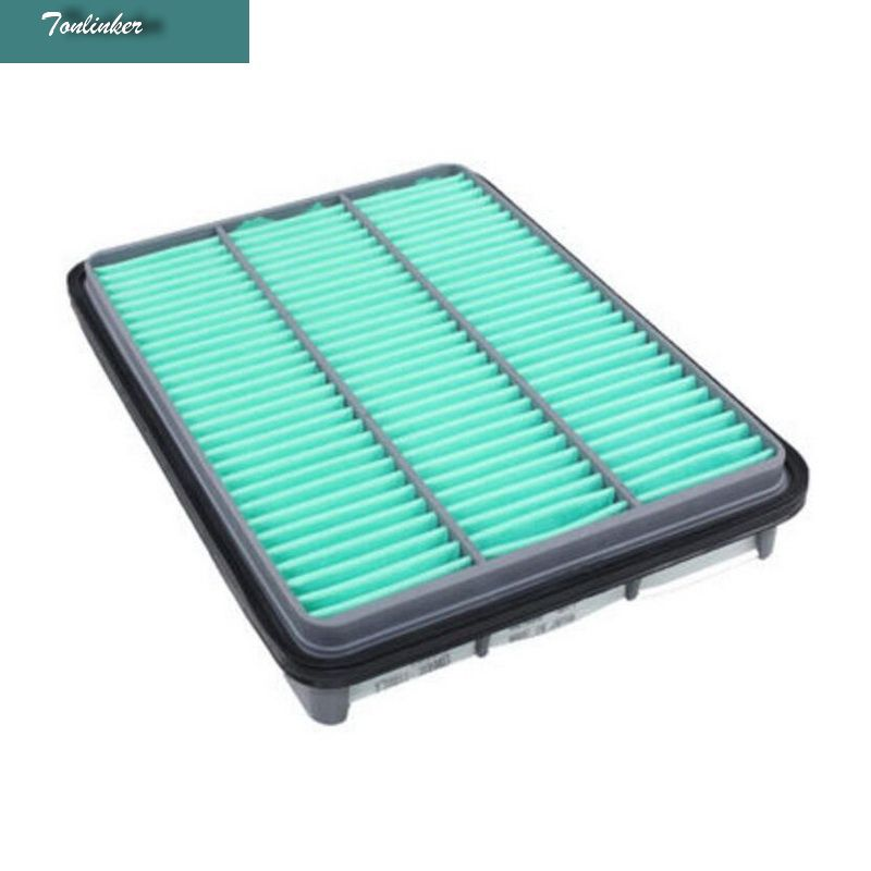 Tonlinker 1 pcs fresh air filter for TOYOTA PRADO 2004-17 2.7L 2700 anti-PM2.5 car styling external air filter