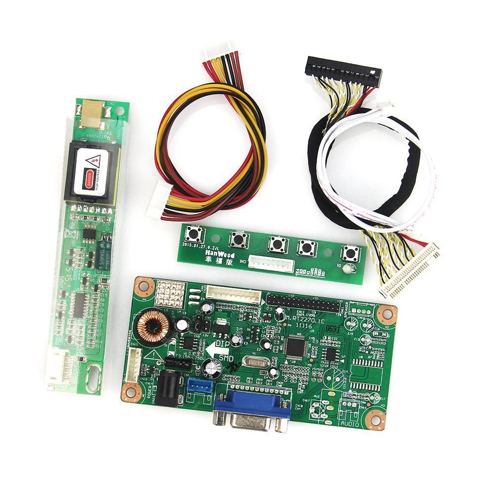 LCD Control Treiberplatine VGA LVDS Monitor Wiederverwendung Laptop Für LTN170U1-L01 B170PW02 1440x900