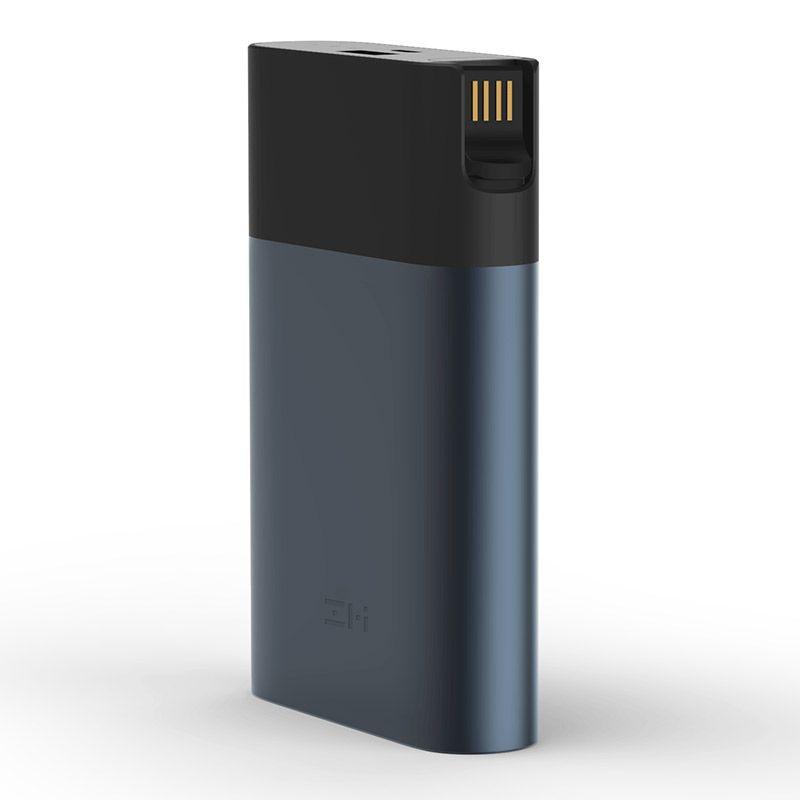 Original Xiaomi ZMI 4G Wifi Router 10000 mAh Energienbank 3G 4G LTE Mobilen Hotspot 10000 mAh QC 2,0 Power Schnellladung Batterie