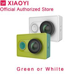 Xiaomi yi Экшн-камера yi 1080 p Спортивная камера Открытый Kamera microsd tf карта памяти Поддержка приложения wifi камеры дистанционного управления