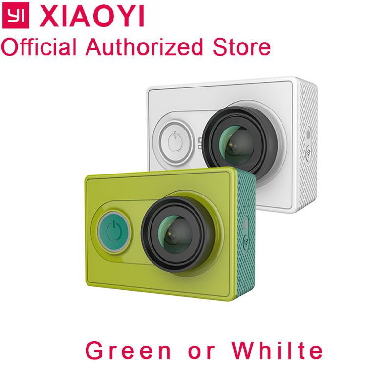 Xiaomi yi d'action caméra yi 1080 p sport cam caméra extérieure Kamera microsd tf carte mémoire soutien app wifi télécommande caméras