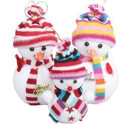 5 pieces/pack pasokan Kecil boneka Natal Natal Boneka Salju Santa Claus Natal Persediaan Lucu Pohon Natal Dekorasi