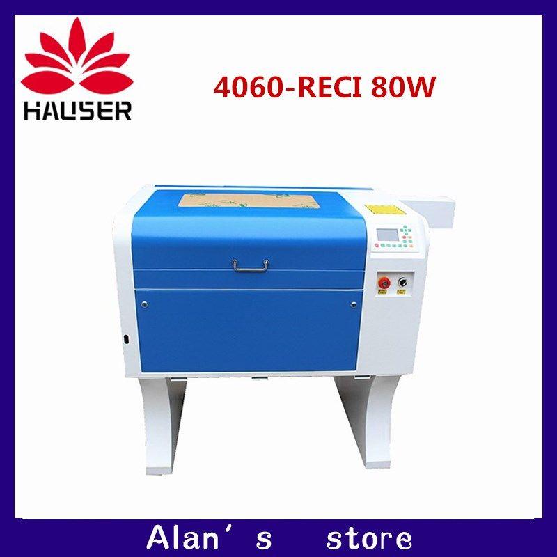 Freies verschiffen HCZ co2 laser RECI 80 W 4060 laser gravur cutter kennzeichnung maschine mini laser engraver cnc router laser kopf diy