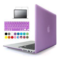 3 en 1 Matte hard case para Apple MacBook Air pro retina 11 12 13 15 pulgadas protector para mac Book 11.6 13.3 15.4 touchbar