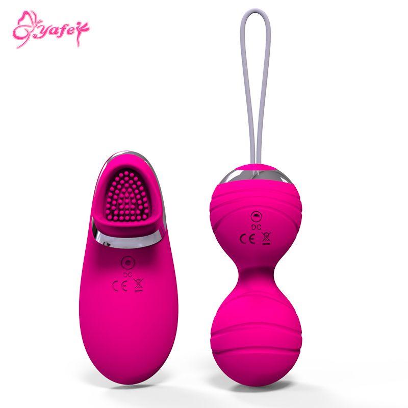 YAFEI Vibrating Egg Wireless remote control ben wa ball Women kegel balls love egg sex toys for couple Vibrator Sex Products