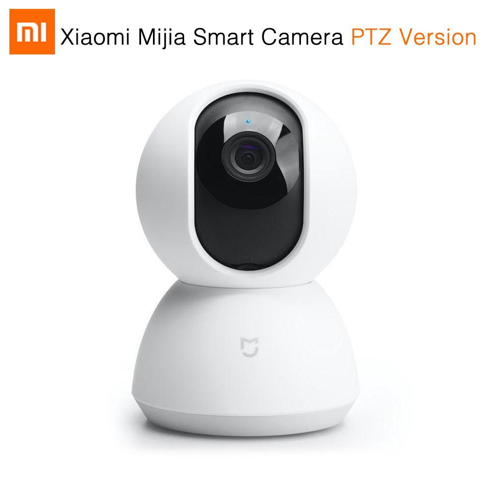 Original Xiaomi Mijia Smart Camera PTZ Version 720P Night Vision Webcam 360 Angle Camcorder WiFi Wireless Mute Motor Magic Zoom
