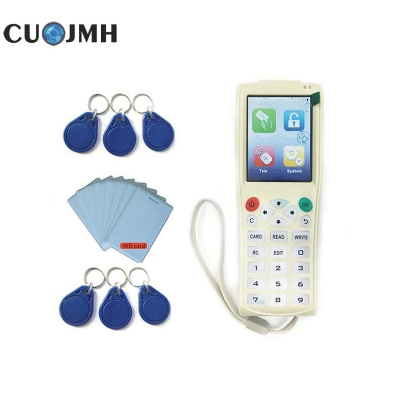 1 Set Access Card Reader English Version Newest Icopy 3 With Full Decode Function Smart Card Key Machine Blank Copy Cards