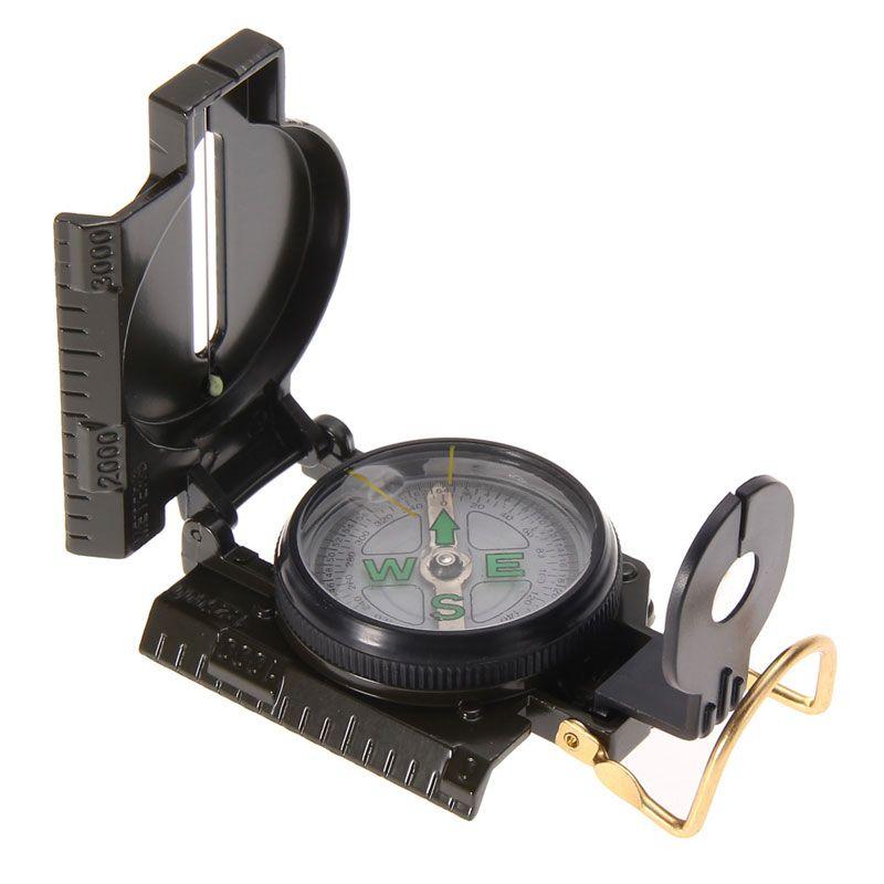 3 in 1 Jagd Army Camping Überleben Objektiv Lensatic Kompass Outdoor