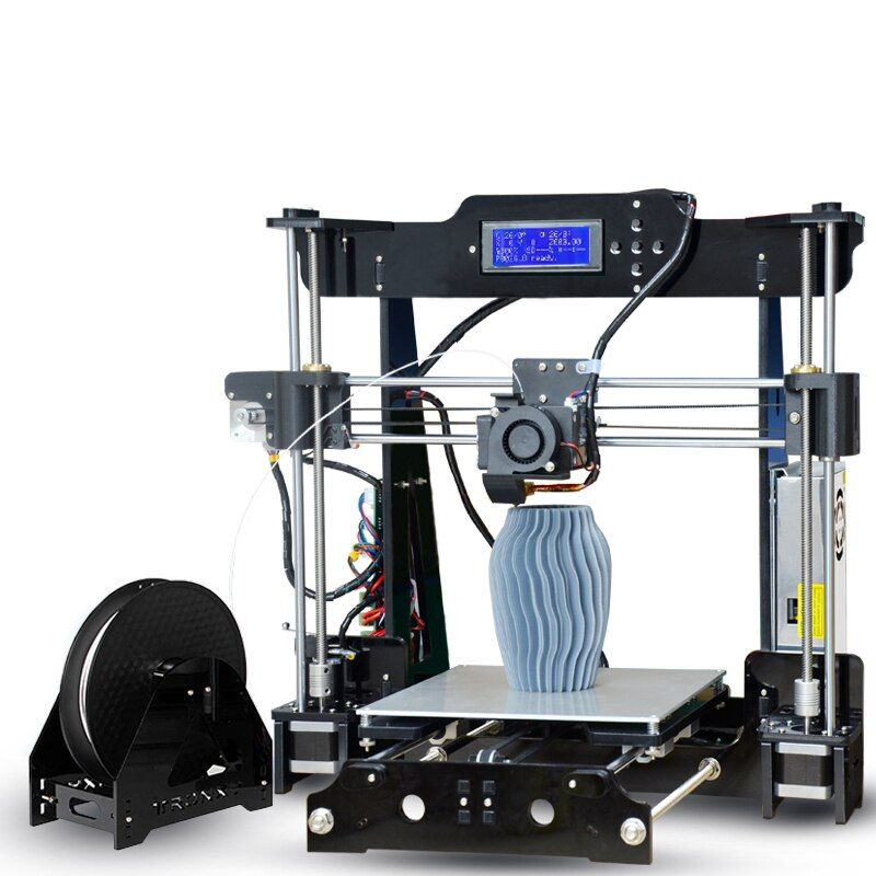 2018 Tronxy High precision P802M 3D Printer DIY KIT P802MA with Autolevel 0.4mm nozzle Print PLA ABS filament