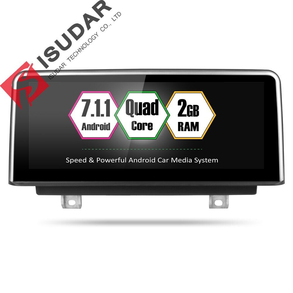 Isudar Car Multimedia player 2 din android 7.1.1 8.8 Inch For BMW 3 Series F30/F31/F34 320 4 Series F32/F33/F36 BNT 32GB Rom