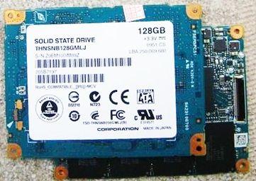 1.8 inch SATA LIF 128GB ssd  FOR macbook air a1304 mc233 mc234 Replace  HS12UHE