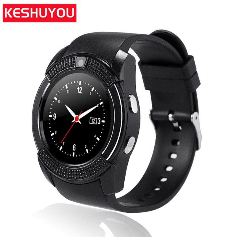 KESHUYOU kV8 call reminder mode smart watch android frauen uhr smartwatch bluetooth armbanduhr handy Mit sim-karte