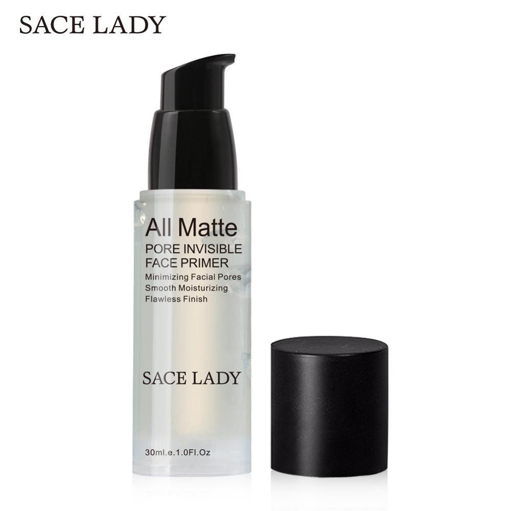 SACE DAME De Base De Visage Amorce 30 ml Maquillage Naturel Mat Pores Invisibles Prolonger Maquillage Visage Fondation Gel D'huile-contrôle Cosmétique