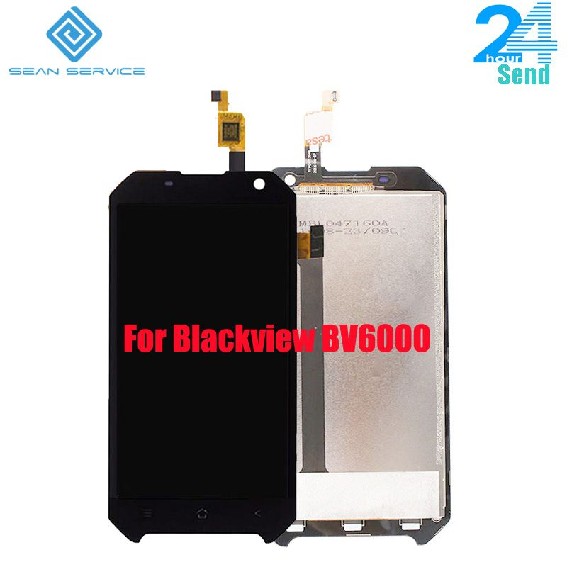 For Original Blackview BV6000 LCD Display and TP Touch Screen Digitizer Assembly lcds +Tools <font><b>4.7</b></font> MT6755 Octa Core in stock