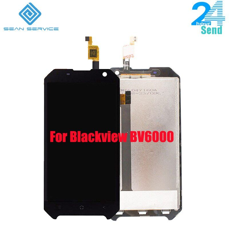 For Original <font><b>Blackview</b></font> BV6000 LCD Display and TP Touch Screen Digitizer Assembly lcds +Tools 4.7 MT6755 Octa Core in stock