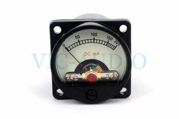 1Piece DIY Amplifier Accessories Mini Meter SD-39 200MA Ammeter 6-12V With Warm BackLight Free Shipping