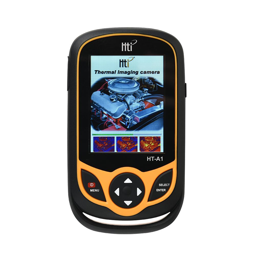 HT-A1 Thermal Imager 3.2 inch Full View TFT Screen Infrared thermometer Thermal Imager 0.3MP Camera Detector for Outdoor Hunting