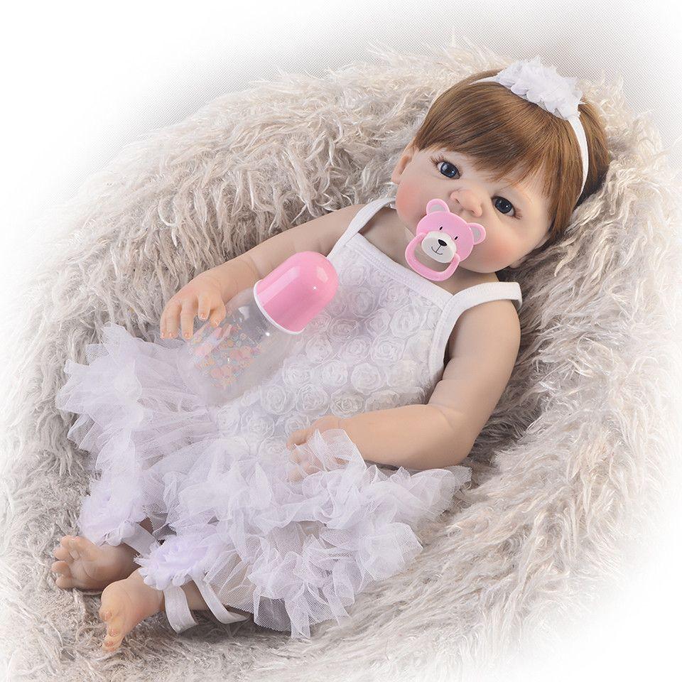 Full Vinyl Body Reborn Baby Doll 23
