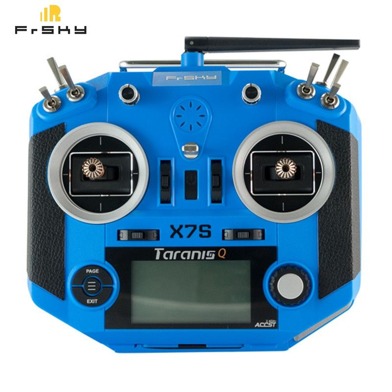 Frsky 2.4G 16CH ACCST Taranis Q X7S Transmitter TX Mode 2 M7 Gimbal Wireless Trainer Free Link App Bag for RC Models