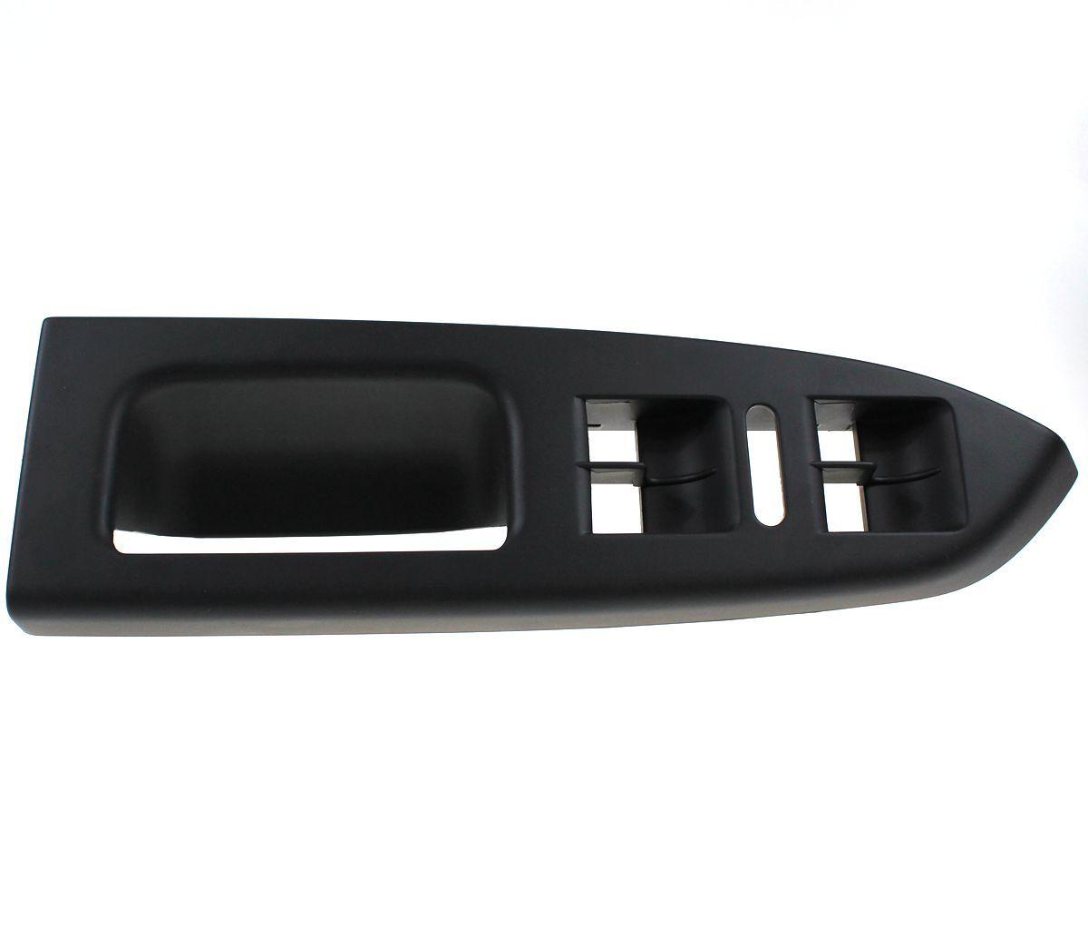 LARBLL New LHD Door Handle Trim Dark Gray LEFT Master Window Switch Panel Bezel 1T1 867 371 For VW Volkswagen Touran 2003-2016