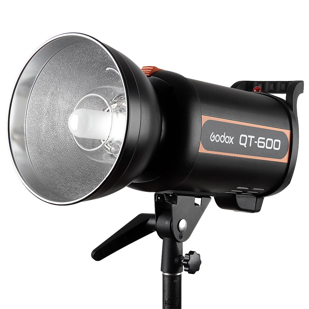 Godox QT Series QT600 600WS High-Speed Photography Studio Strobe Flash Modeling Light Recycling Time 0.05-1.2s