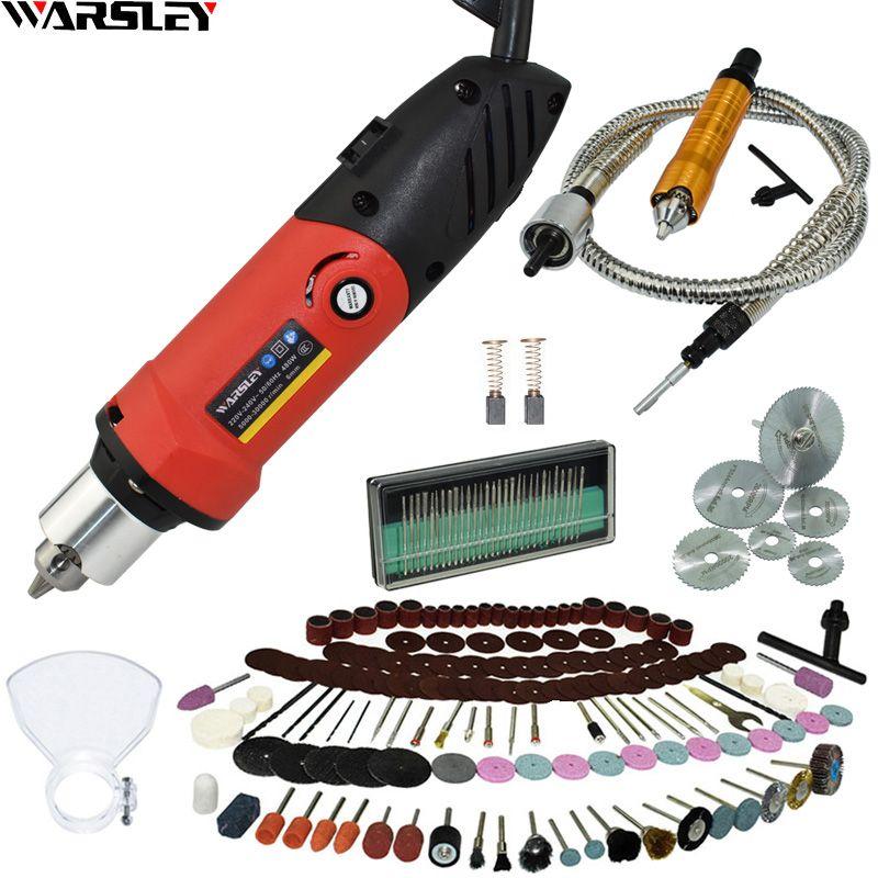 480W graveur électrique Mini perceuse bricolage perceuse Dremel Style nouveau perceuse électrique gravure stylo broyeur outil rotatif Mini-broyeur
