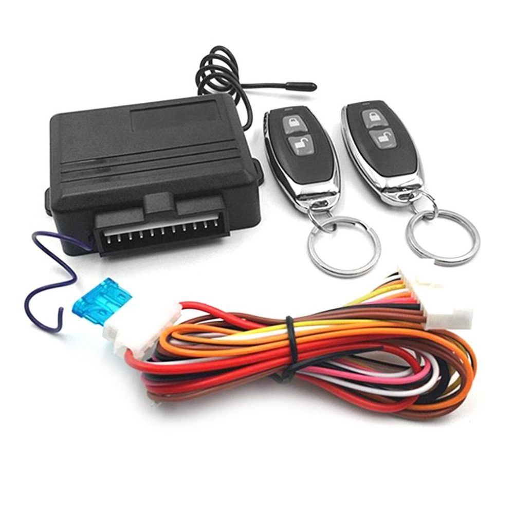 1 Sets Keyless Entry System Car Alarm Systems Device Auto Remote Control Kit Door Lock Vehicle Central Locking And Unlock New