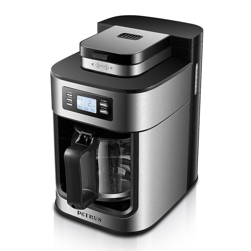 1000 watt PE3200 Kaffee maschine Haushalt Automatische Schleifen kaffee maschine Frisch boden Frisch gekocht Amerikanischen kaffee maker