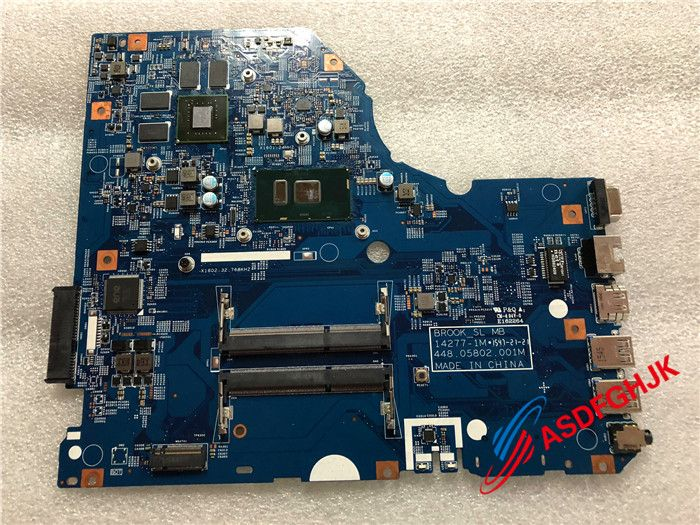 FOR Acer Aspire E5-773 N15W1 Laptop Motherboard WITH I7-6500U 448.05802.001M 100% Perfect work