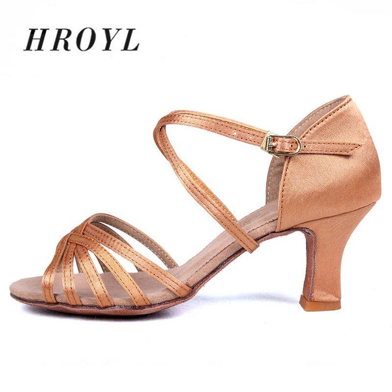 Nouveau femmes chaussures de danse latine salle de bal Tango chaussures de danse pour femmes dames fille Sequin 5/6. 5cm talon partie épaisse talon en gros