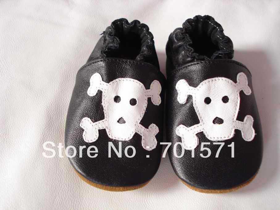 Garantizado 100% suaves zapatos de bebé De Cuero Genuino suela shoes2001