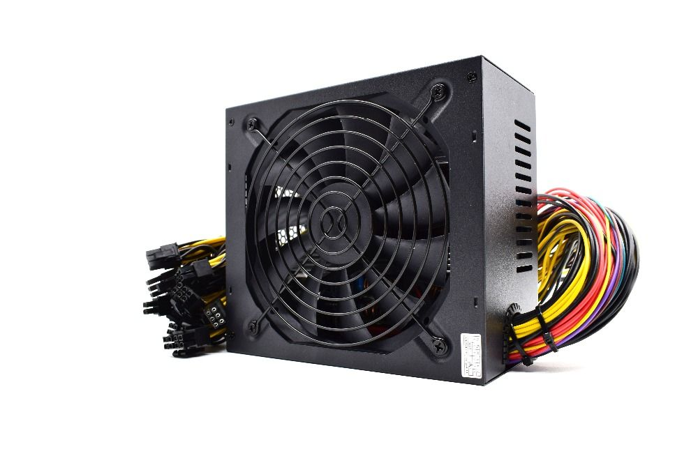 Brand new Gold POWER 1800W BTC power supply for R9 380 RX 470 RX480 6 GPU CARDS 6 months warranty free shipping
