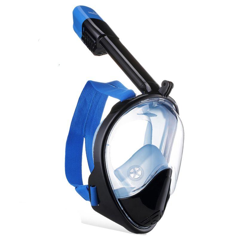 Hochwertige Gesicht Anti-Fog und Anti-Leck Schnorchel Tauchen Maske ausrüstung mit 180 Grad Sichtbereich und Gopro Kamera Moun