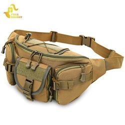 Free Knight 3 - 5L Tactical Molle Bag Waterproof Waist Fanny Pack Hiking Fishing Sport Hunting Waist Bags Camping Sport Bag Belt