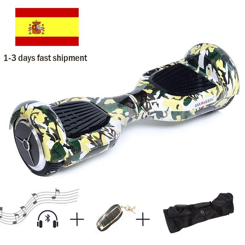 6,5 Zoll Hoverboard Selbst Balance Elektro-scooter Zwei Rad Gleichgewicht Hoverboard Elektroroller Gyroskop Elektrisches Skateboard