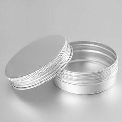 HAUT Vide Pot de Crème En Aluminium Tin Cosmétique Baume à lèvres Conteneurs Nail Derocation Artisanat Pot Bouteille Vis Fil