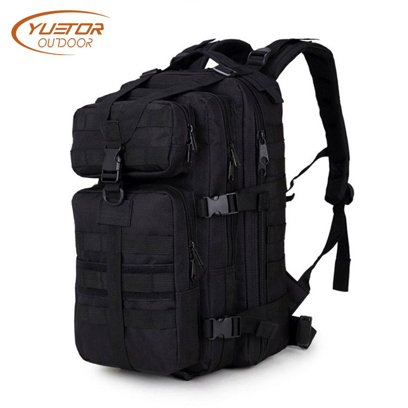 Outdoor Hiking Camping Hunting Molle 3P Military Tactical Backpack Army Assualt Pack Mochila Militar Tactica Nylon Tactical Bag
