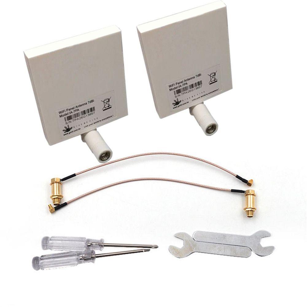 DJI Phantom 4 & Phantom 3 Avancée et Professionnel WiFi Range Extender Signal Antenne Kit