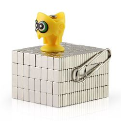 100 piezas mini Bloque 6x4x1,5mm N50 tierra rara imán fuerte