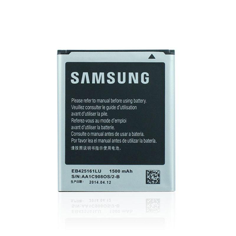 1/lot Батарея EB425161LU Аксессуары для мобильных телефонов для Samsung Galaxy S3 Mini I8160 Galaxy Ace 2 S i8190 i8190n Trend Duos s7562