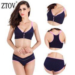 ZTOV BreastFeeding cotton Maternity bras for Feeding Pregnant women soutien gorge allaitement Nursing Bras pregnant underwear