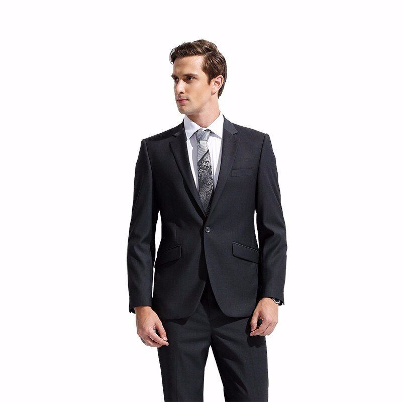 DARO 2018 Men's Suit Slim Fit Business Formal Wear Jacket and Pants Casual Clothes DR8158