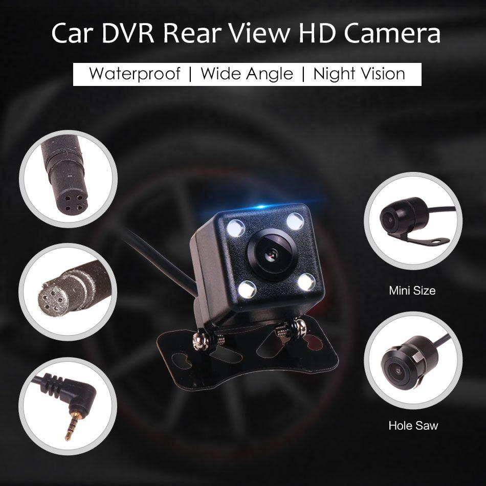 4PIN 5pin 2.5 AV в заднего вида Обратный Парковка Водонепроницаемый Широкий формат HD Камера для Видеорегистраторы для автомобилей видеокамера ...