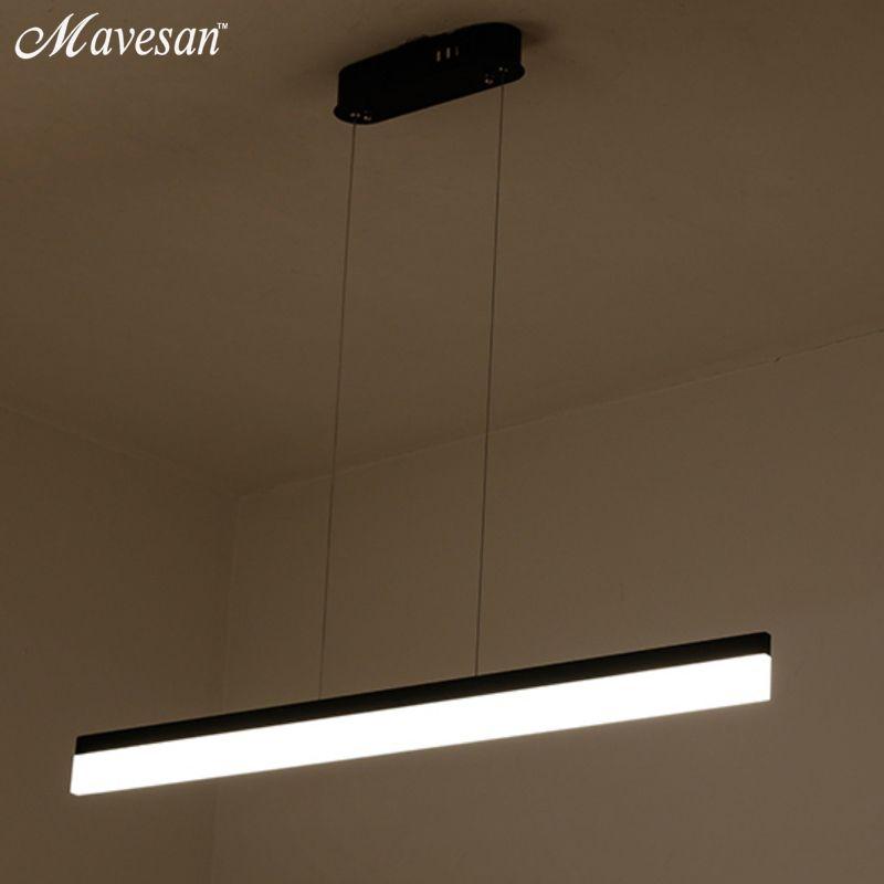 2017 Modern Pendant Lights for Dinning Room Living Room Restaurant Kitchen Lights AC85-260V Luminaire Suspended Pendant Lamps