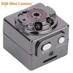 SQ8 Mini Car DVR Camera HD 1080P Camera Night Vision Mini Motion Detection Camcorder Class 10 Video Recorder Micro Car Camera