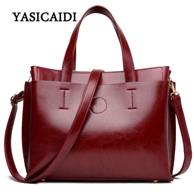 Ladies Hand Bags <font><b>Famous</b></font> Brand Bags Logo Handbags Women Fashion Black Pu Leather pochette Shoulder Bag Women Bags Drop Shipping